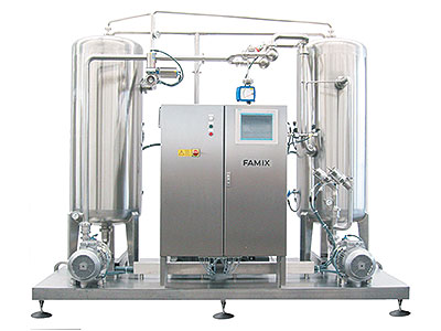 Front view FAMIX Deaerator